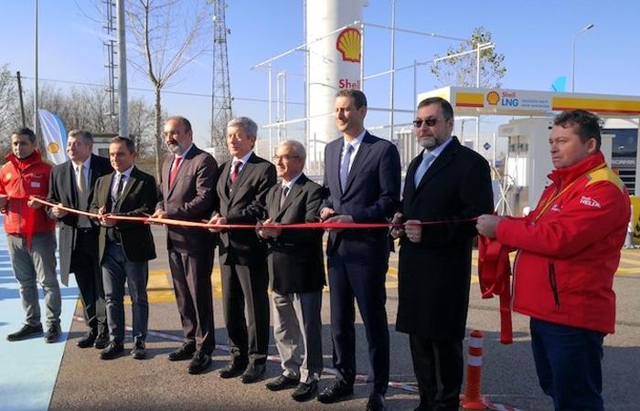 Türkiye'nin ilk LNG istasyonu Shell&Turcas'tan
