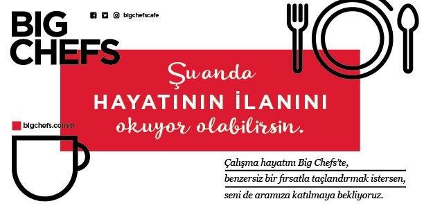 Big Chefs Restoran İşletme Müdürü – İzmir