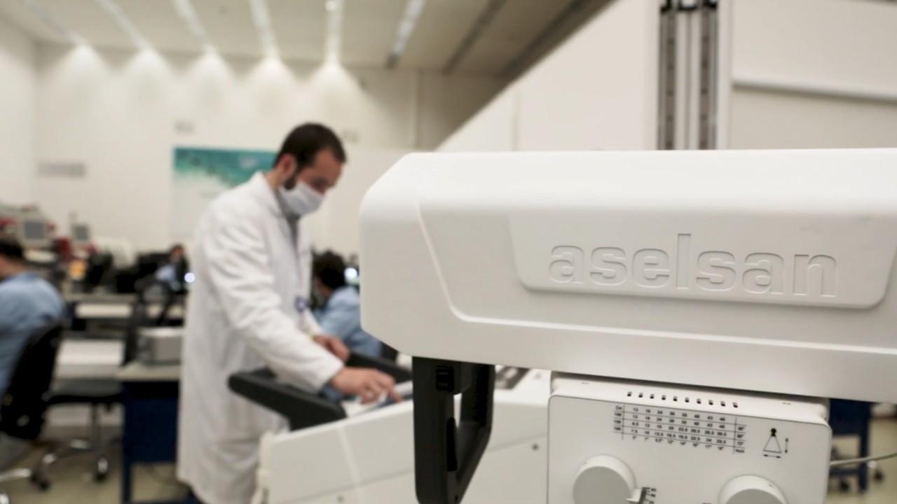 ASELSAN Mobil Dijital X-Işını Cihazı geliştirdi