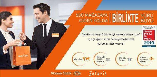 Atasun Optik Perakende Tic. A.Ş. Optisyenler – İstanbul ( Avrupa )