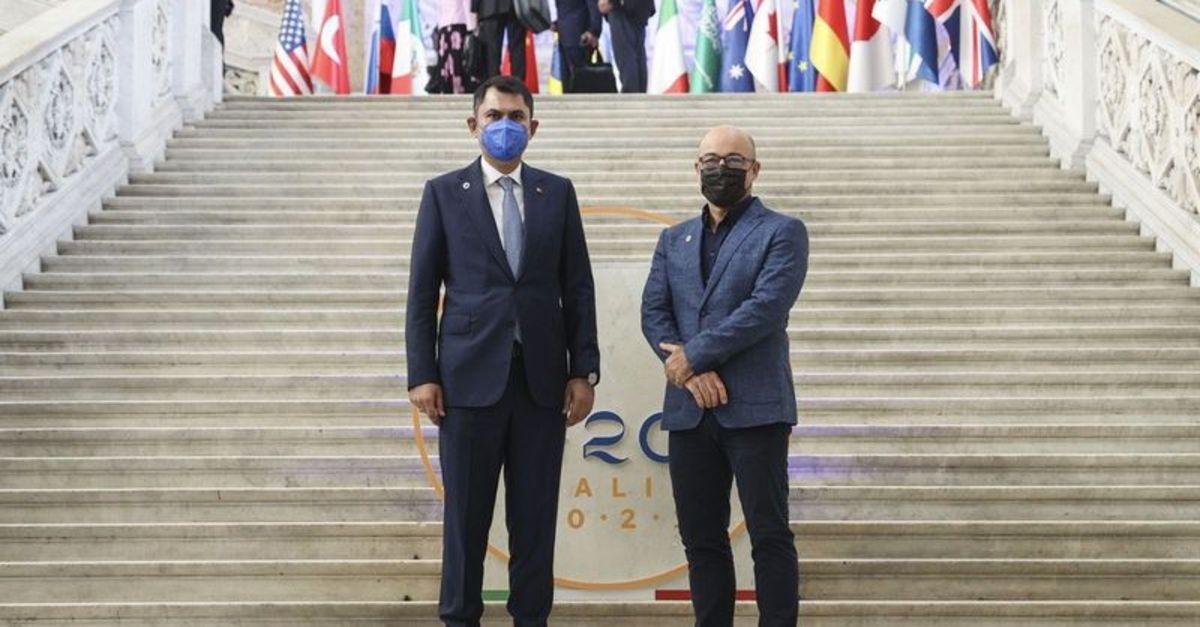 """Bakan Kurum, G20'de """"İklim Dirençli Şehirler"""" için bütünleşik stratejilere vurgu yaptı"""