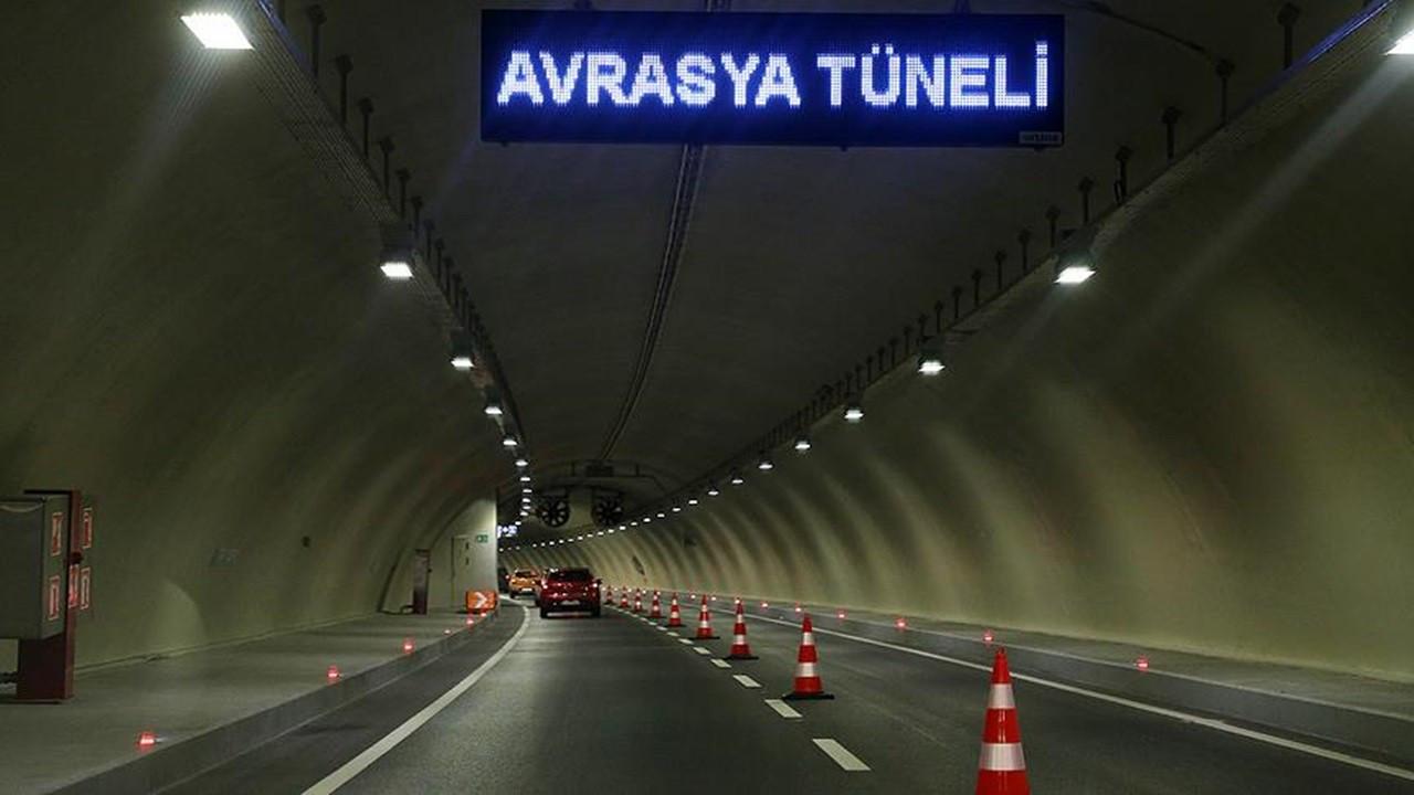 Bakanlıktan 'Avrasya Tüneli geçişlerinde fazla ücret alındığı' iddiasına ilişkin açıklama