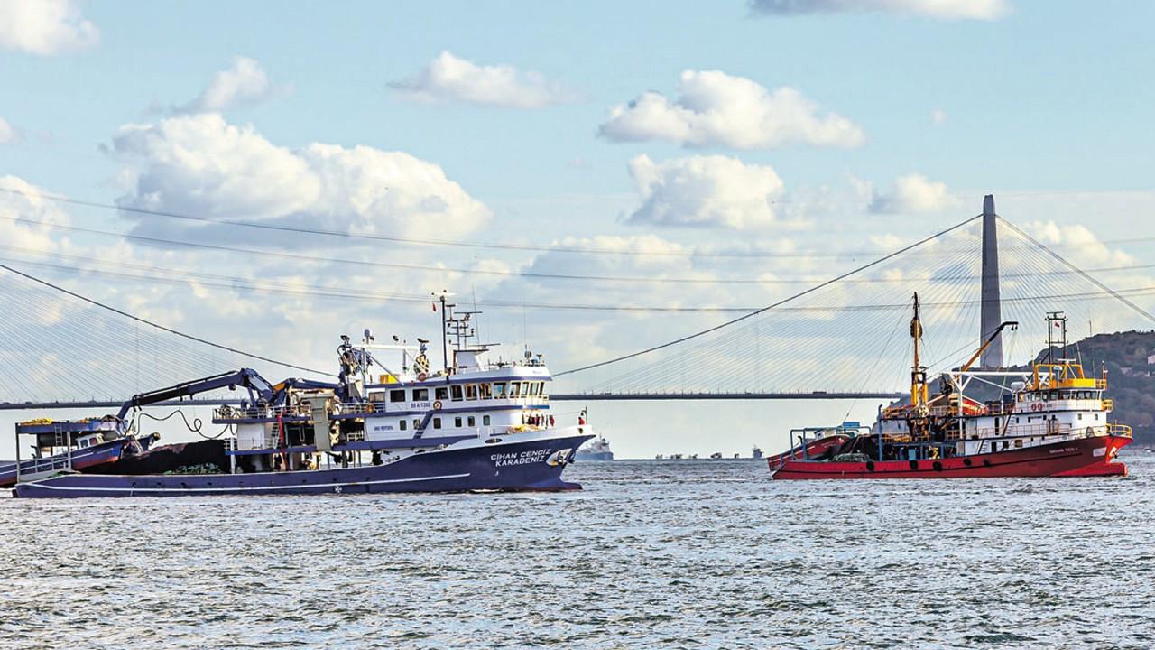 Balıkçılar Marmara Denizi'ni terk etti