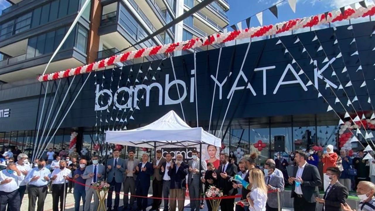 Bambi Yatak, yeni mağazalarla Anadolu'da büyümeye devam ediyor