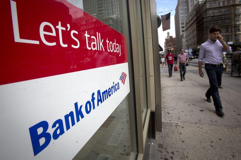 Bank of America ve Wells Fargo hisseleri, kazanç raporları üzerine yükseldi