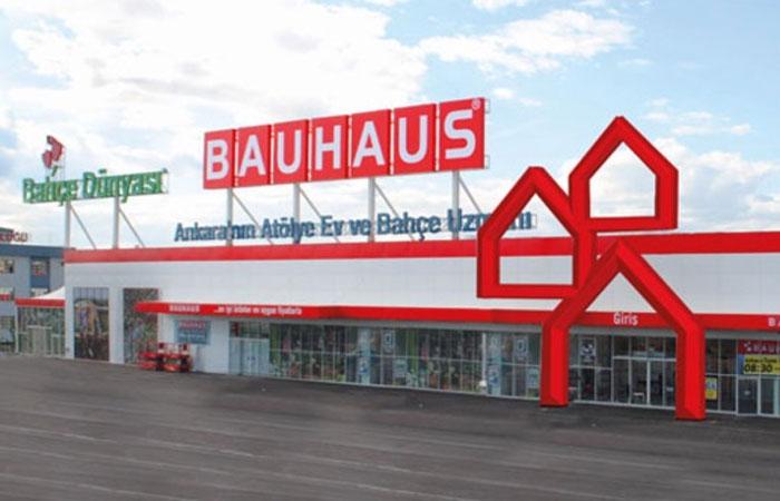 Bauhaus Türkiye, 'online' hizmet verecek
