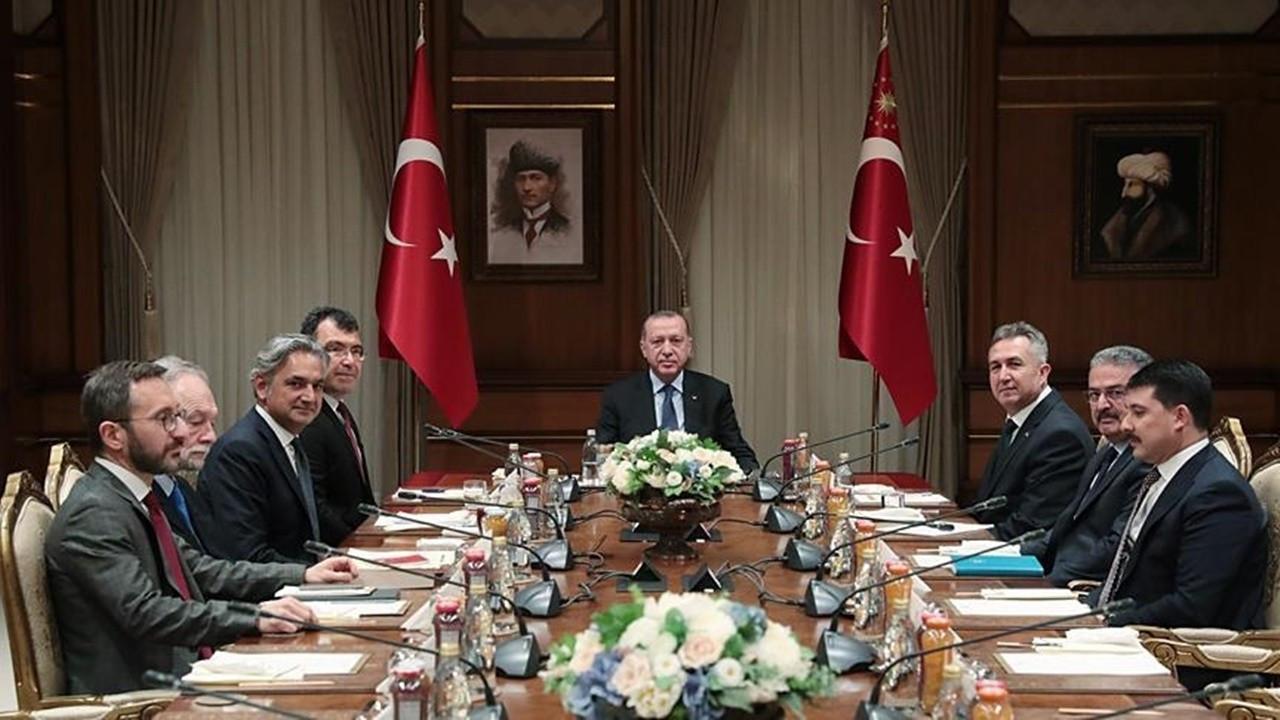 Bilim, Teknoloji ve Yenilik Politikaları Kurulu, çalışmalarını Cumhurbaşkanı Erdoğan'a sundu