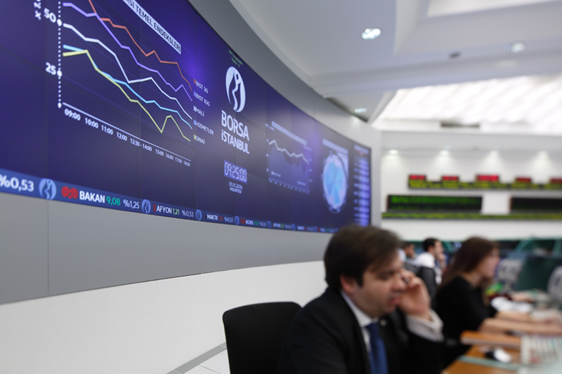 BIST'te yabancı yatırımcılar Ağustos'ta 477,6 milyon dolar net alım yaptı