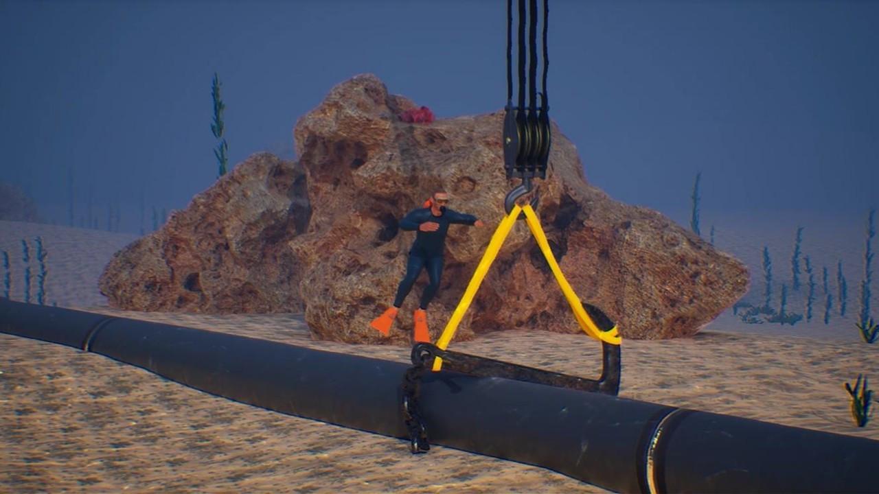 BOTAŞ'ın deniz altındaki borularının bakımını Yapı ve Yapı İnşaat üstlendi