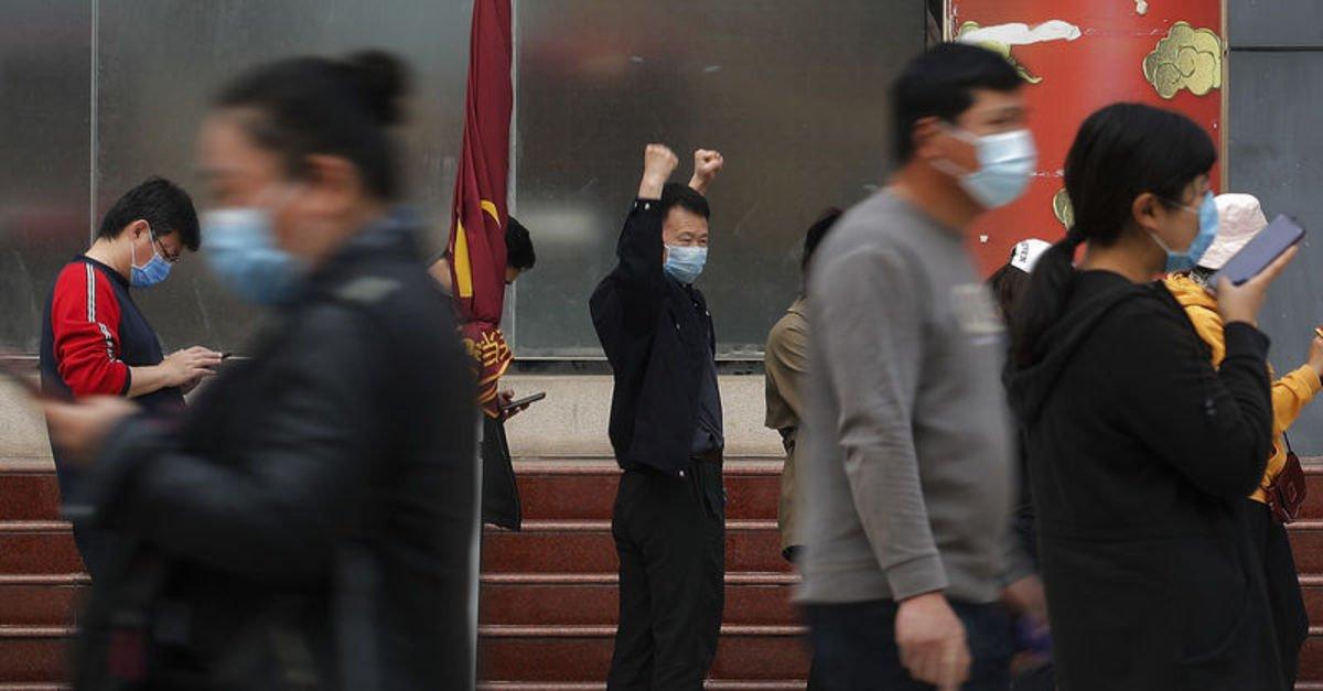 Çin'de bazı şehirlerde ilk kez Kovid-19 vakası görülmedi