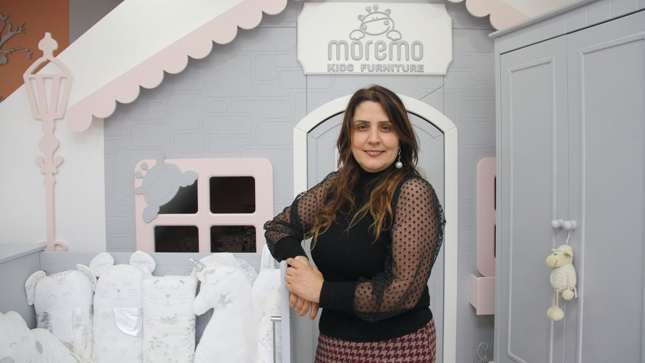 Çocukların hayallerini bir oda dolusu mutluluğa dönüştüren Moremo, ihracatla büyümek istiyor