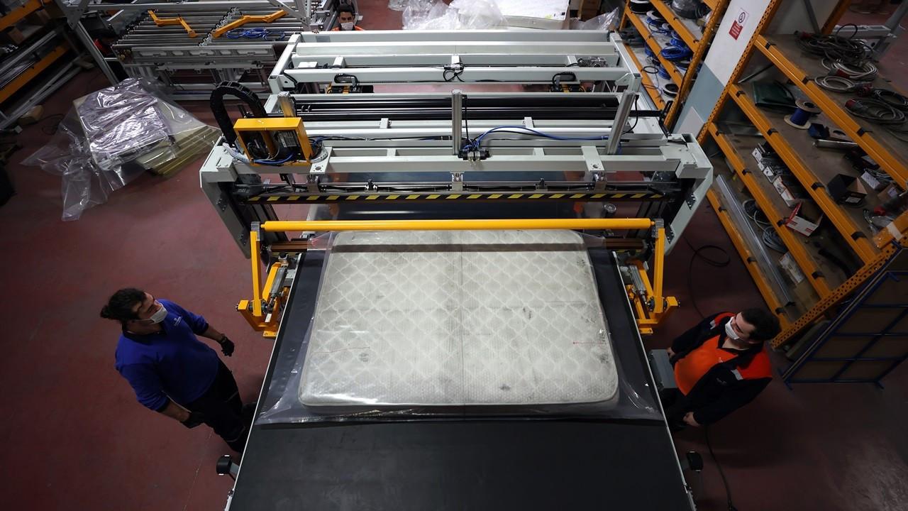 Elektroteks'ten 130 ülkeye yatak imalat makinesi ihracatı