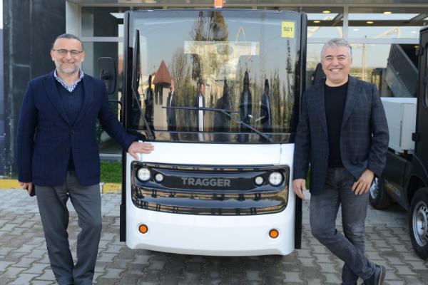 FEV Türkiye mühendisleri  yüzde 100 elektrikli TRAGGER'i otonomlaştırıyor
