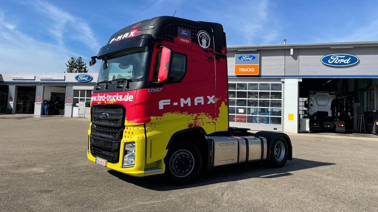 Ford Trucks, Avrupa yolculuğuna Almanya ile devam ediyor