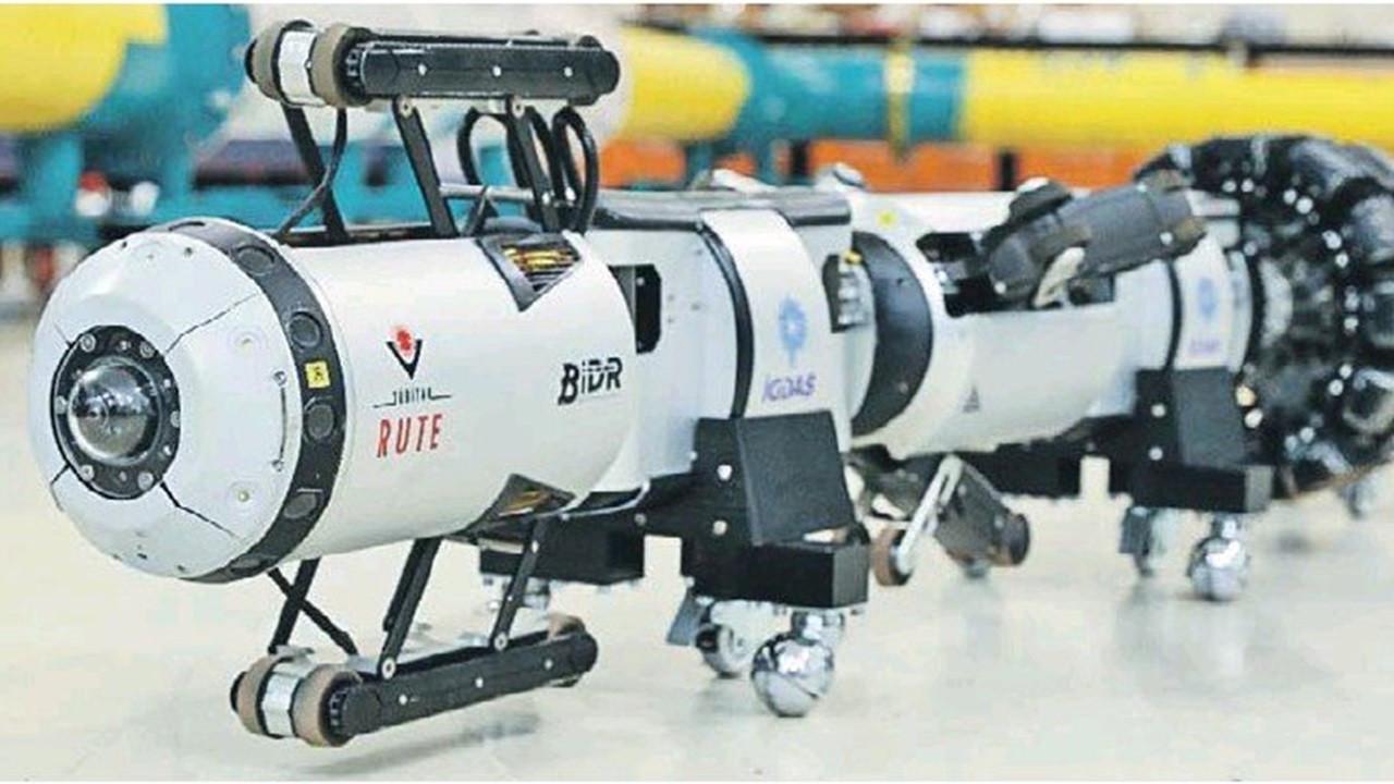 Gaz şebekesi arızalarına yerli robotla erken teşhis