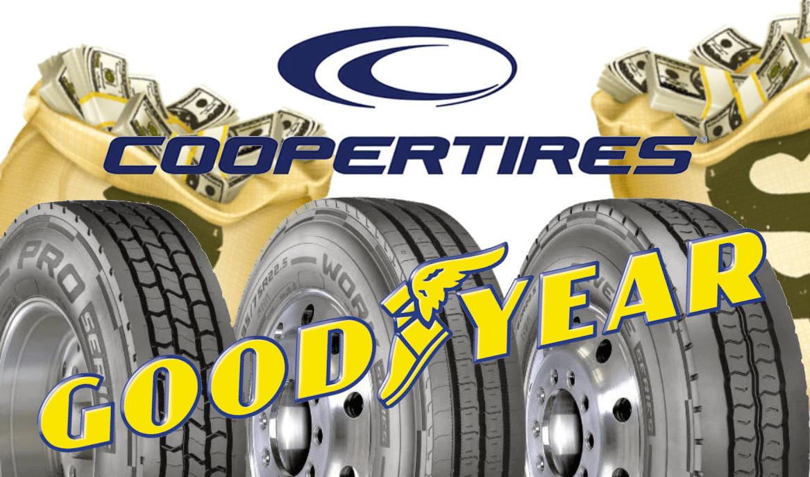 Goodyear, Cooper şirketini satın alma işlemini tamamladı