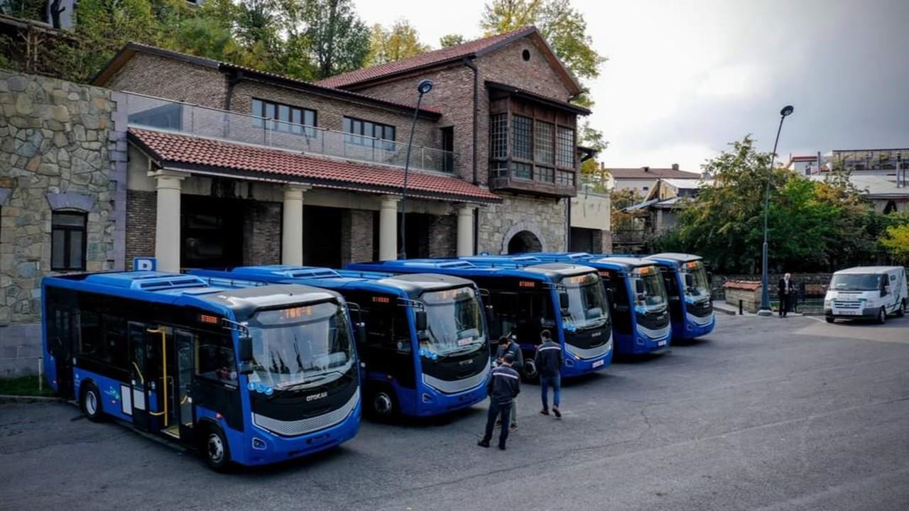 Gürcistan'a gidecek Sultan LF otobüslerde Allison marka şanzıman kullanıldı