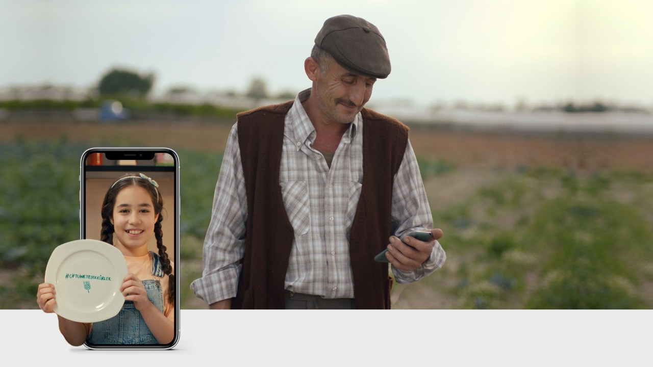 Hektaş'tan çiftçilere teşekkür filmi