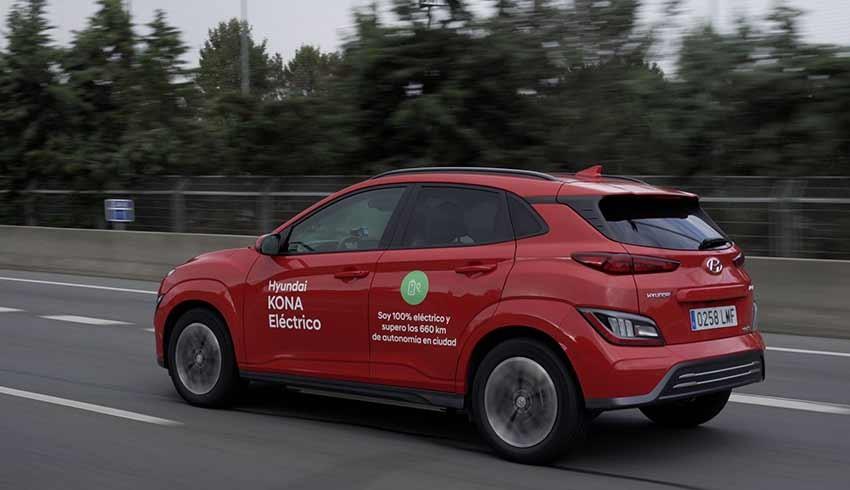 Hyundai Kona Electric kendi rekorunu kırdı!