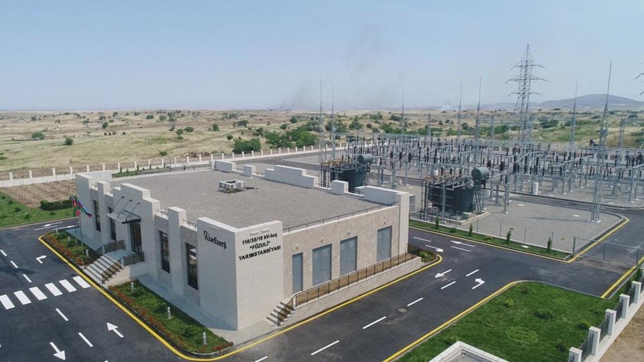 YEO, Azerbaycan'daki trafo merkezlerini devreye aldı