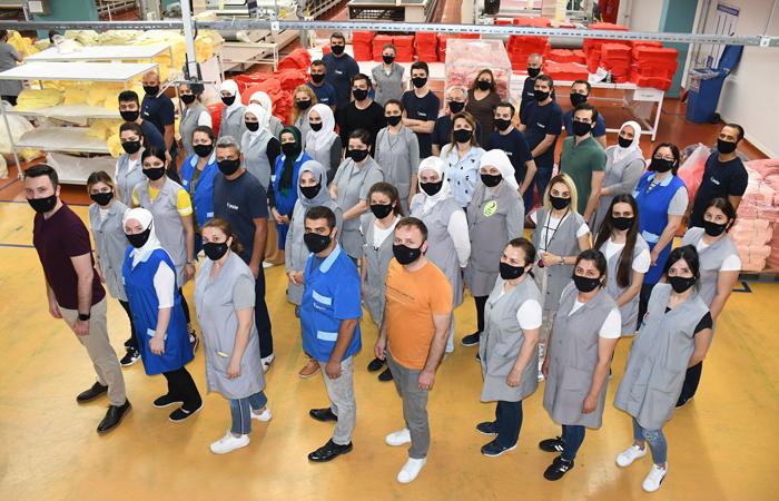 Yeşim Tekstil, antiviral maske projesini tamamladı