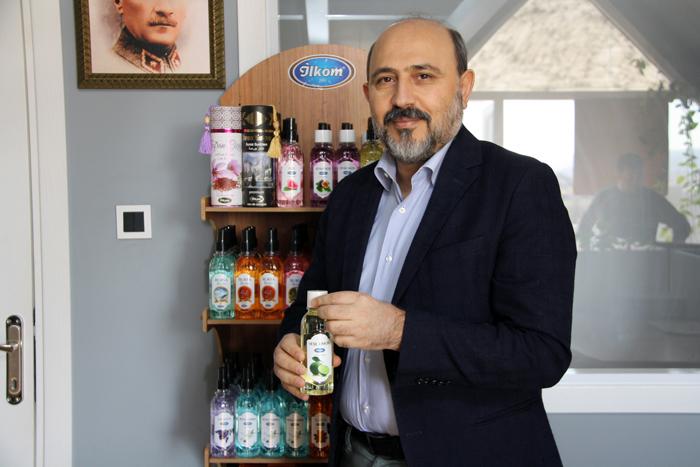 İlkom Türkiye'nin ilk 'vegan' kolonya ve hijyenik jelini piyasaya sunmaya hazırlanıyor