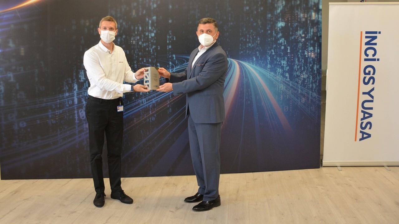 İnci GS Yuasa'ya 'Altın İhracat Ödülü'