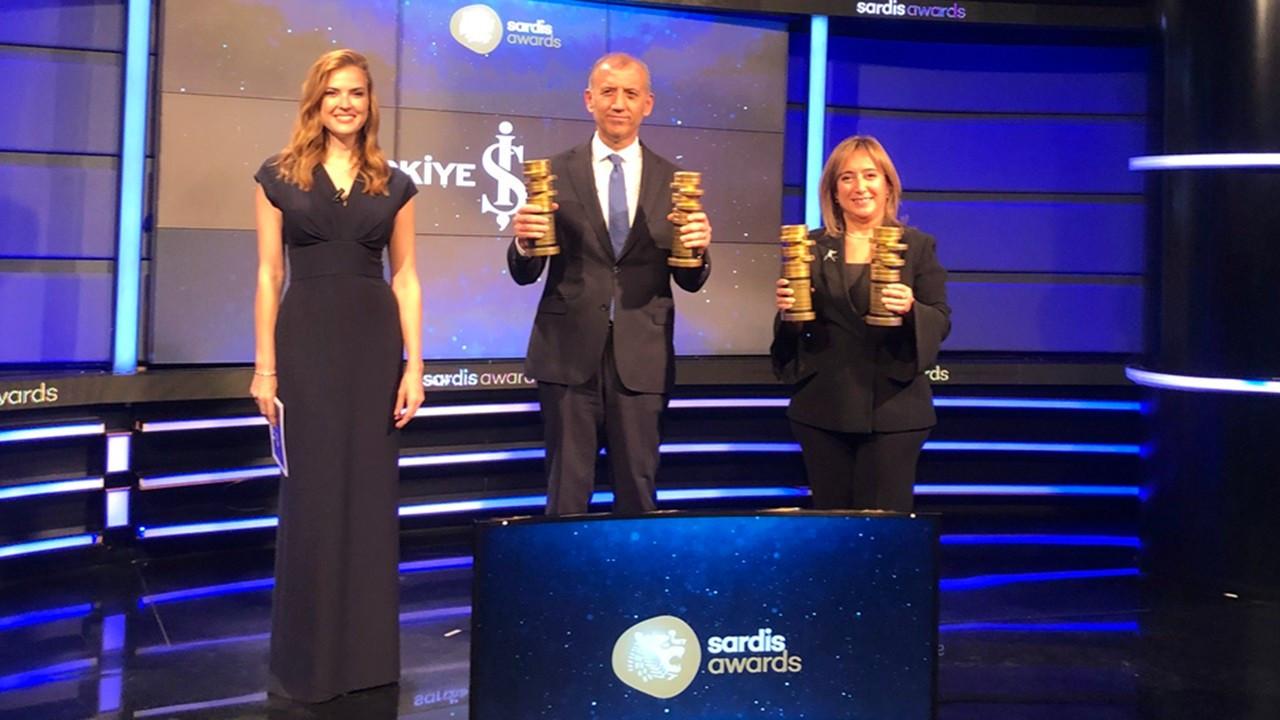 İş Bankası, 'Sardis Ödülleri'nde 17 ödül aldı