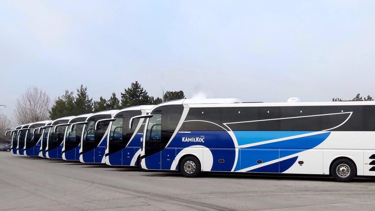 Kamil Koç, filosunu 20 adet MAN otobüs ile büyüttü