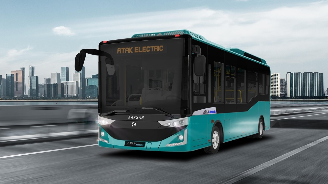 Karsan'dan Romanya'ya 20 elektrikli araç