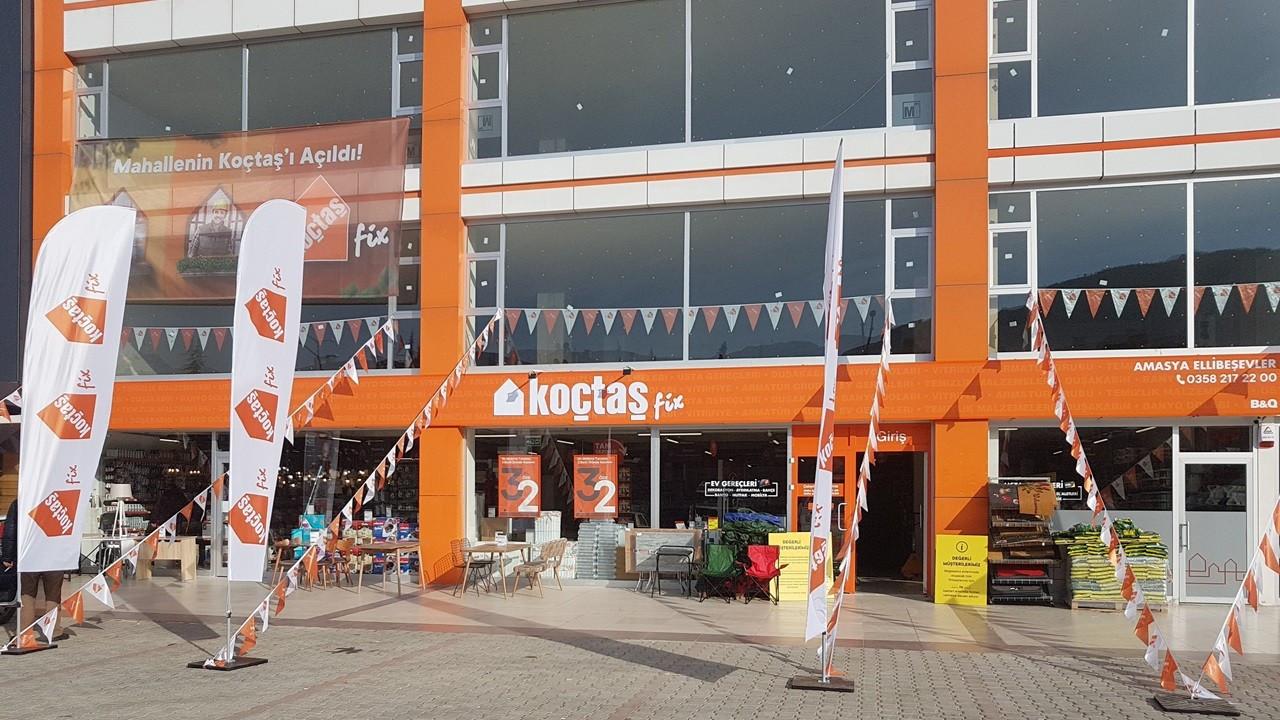Koçtaş, 150'nci mağazasını Amasya'da hizmete açtı