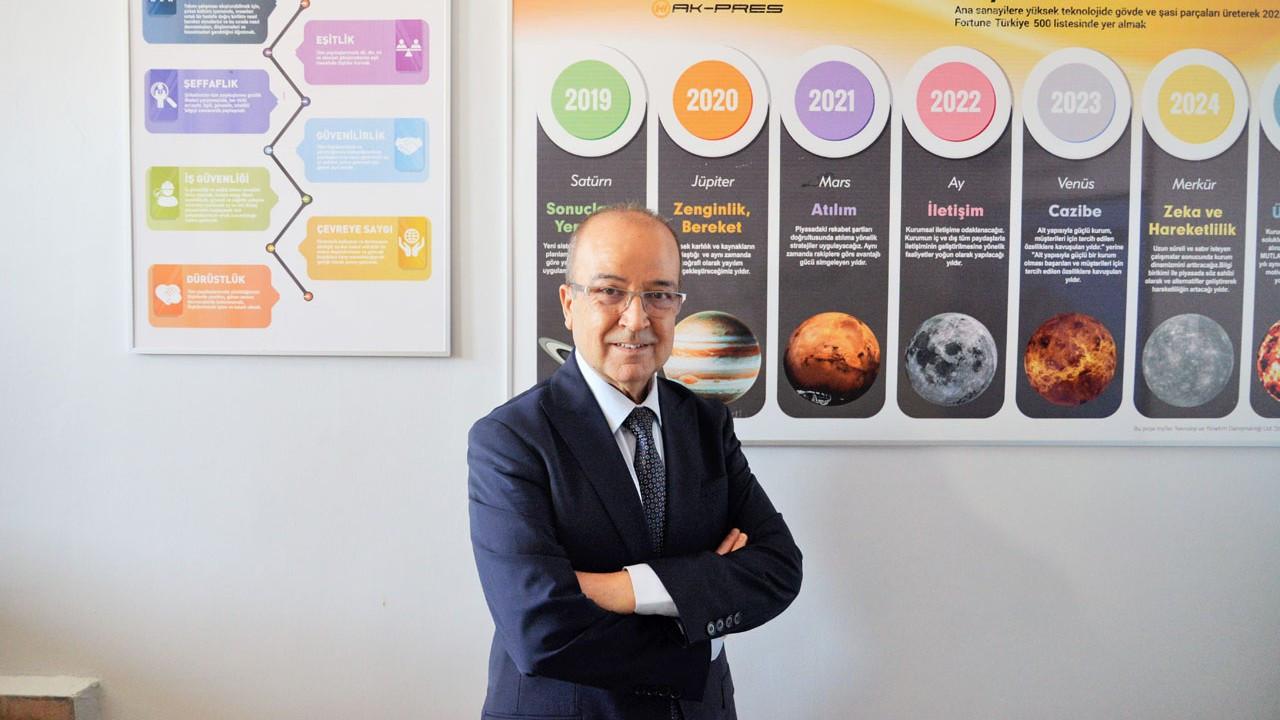 Küçükoğlu Holding'e Etik Değerler ödülü