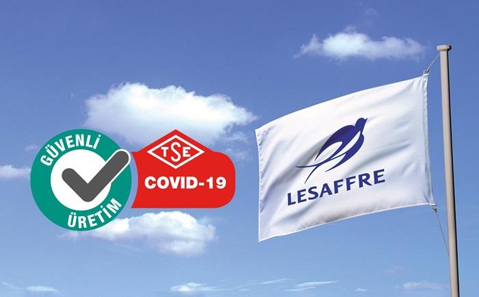 Lesaffre Türkiye, COVID-19 Güvenli Üretim Belgesi aldı
