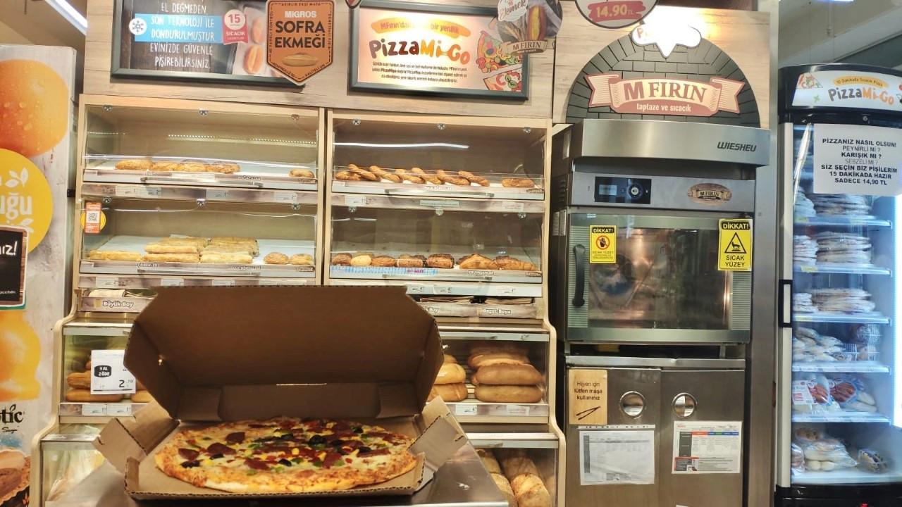 Migros, pizzayla fırın satışını yüzde 25 artıracak