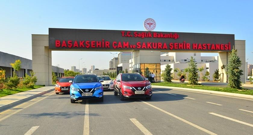 Nissan Türkiye'den sağlık çalışanlarına destek
