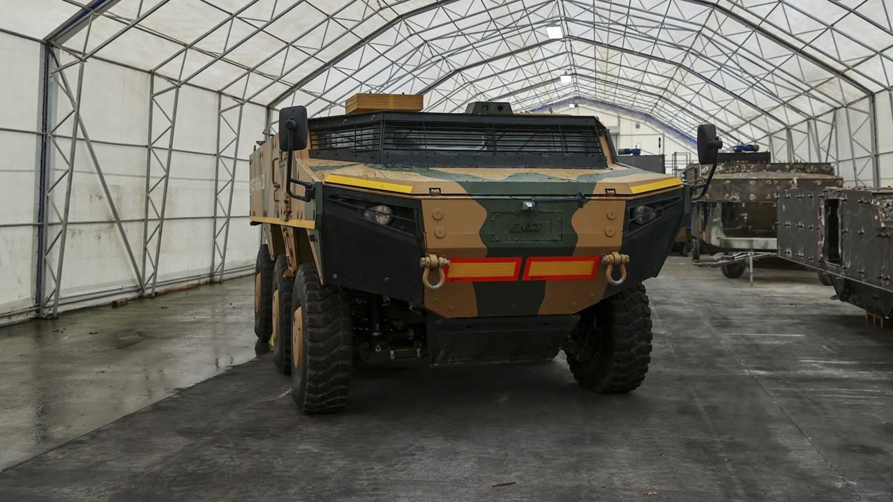 Pars İzci 6×6 ve 8×8 zırhlı araçlarda seri üretime geçiliyor