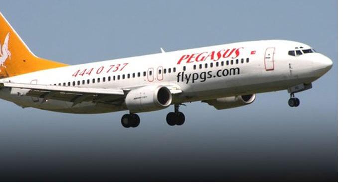 Pegasus'un, 2 çeyrek satışları 22 milyon euroda kaldı