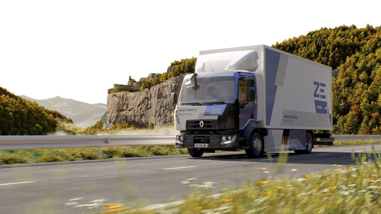 Renault Trucks'ın elektrikli serisine 'Teknik Mükemmellik Ödülü'
