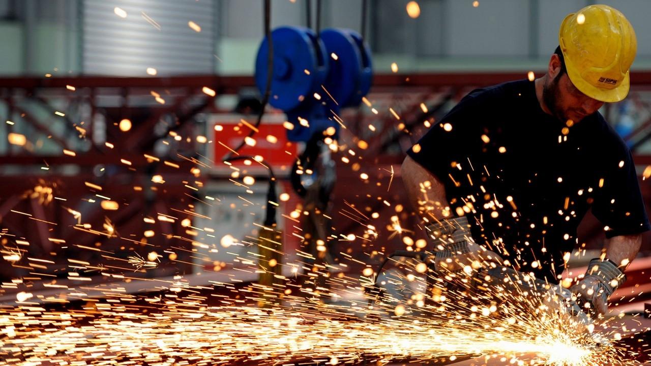 Sanayide çalışan kişi başına üretim yüzde 22,8 yükseldi