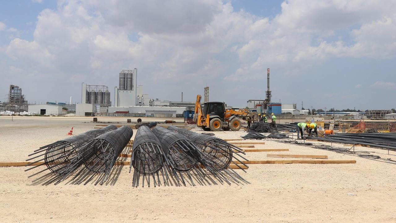 SASA, 400 kişilik ek istihdam yaratacağı tesisin inşaatına başladı