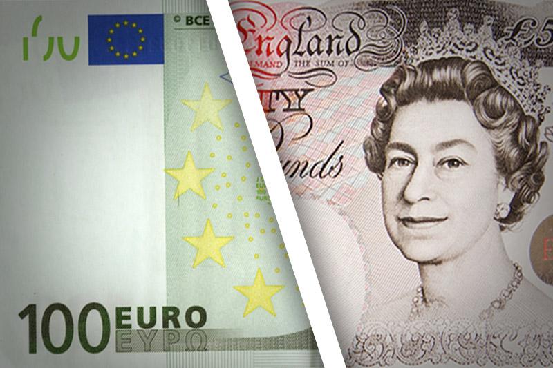 Sterlin, euro karşısında 3 haftanın en yüksek seviyesine toparlandı