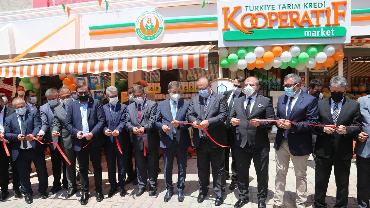 Tarım Kredi Kooperatif Market'in 300'üncü şubesi Bursa'da açıldı