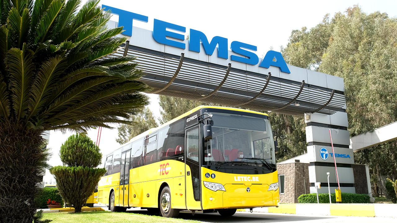 TEMSA'dan Avrupa'nın merkezine 22 otobüs ihracatı