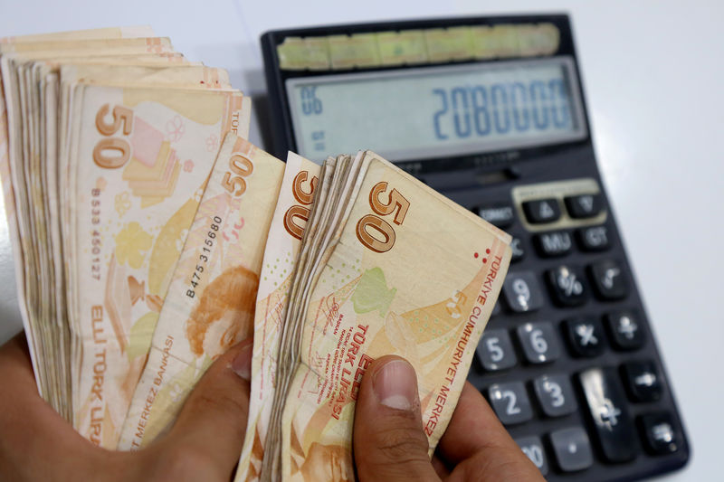 Türk lirasının reel değeri Eylül'de yükseldi