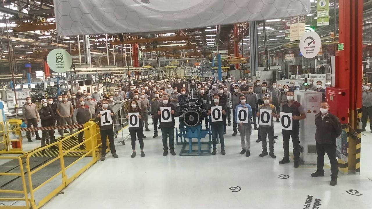 TürkTraktör, 1 milyonuncu traktör gövdesini üretti