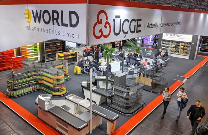 ÜÇGE, inovatif ürünlerini Euroshop'ta tanıttı