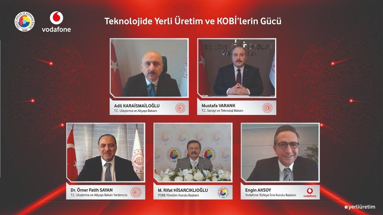 Vodafone, yerli alıma yönelik tedarik zinciri portalını tanıttı