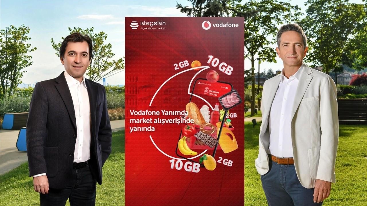 Vodafone, 'Süpermarket Yanımda' ile ayda 100 bin alışveriş hedefliyor